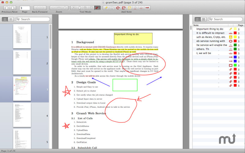 Screenshot 1 for PDF Professional