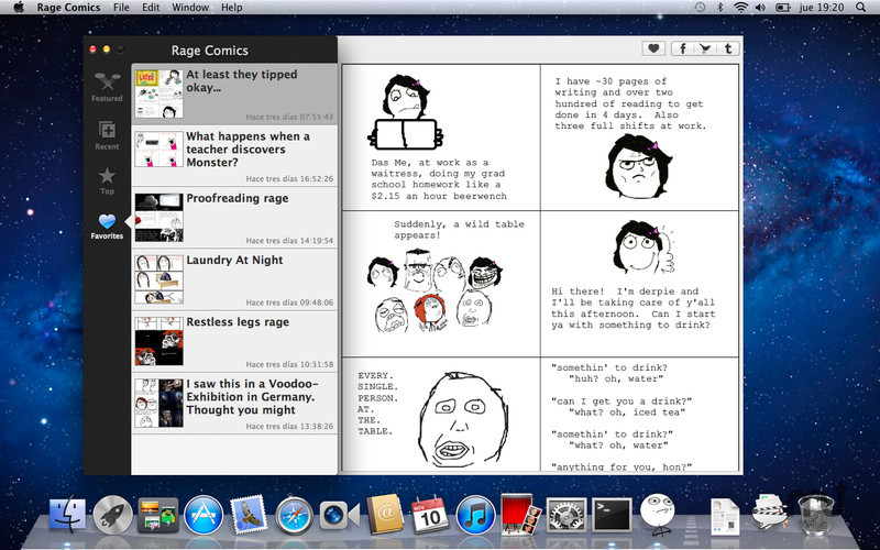 Screenshot 3 for Rage Comics
