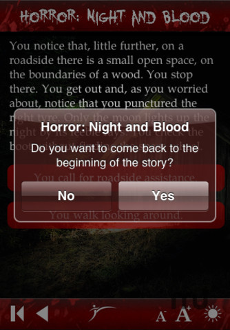 Screenshot 4 for Horror: Night and Blood