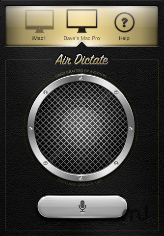 Screenshot 1 for Air Dictate