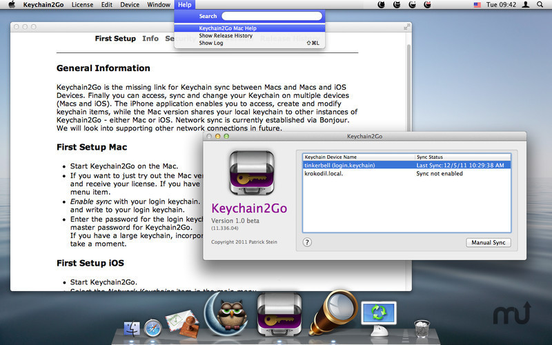 Screenshot 3 for Keychain2Go