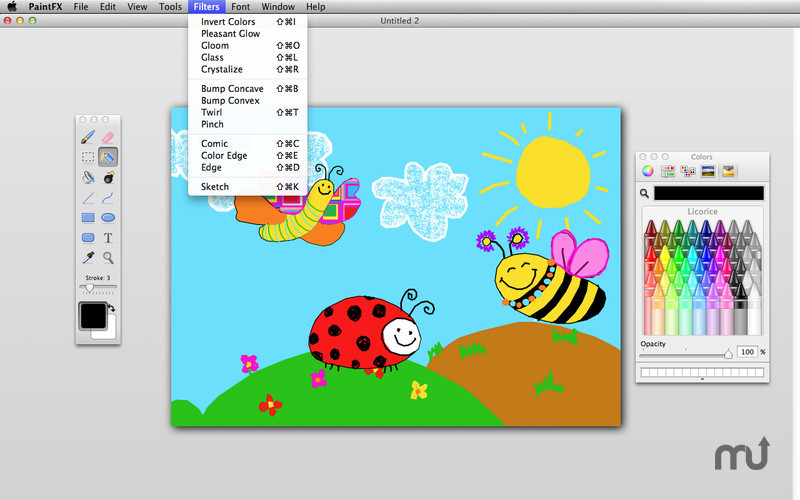 Screenshot 1 for Paint FX