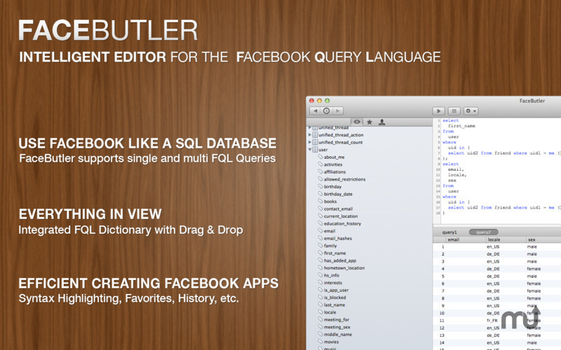 Screenshot 1 for FaceButler
