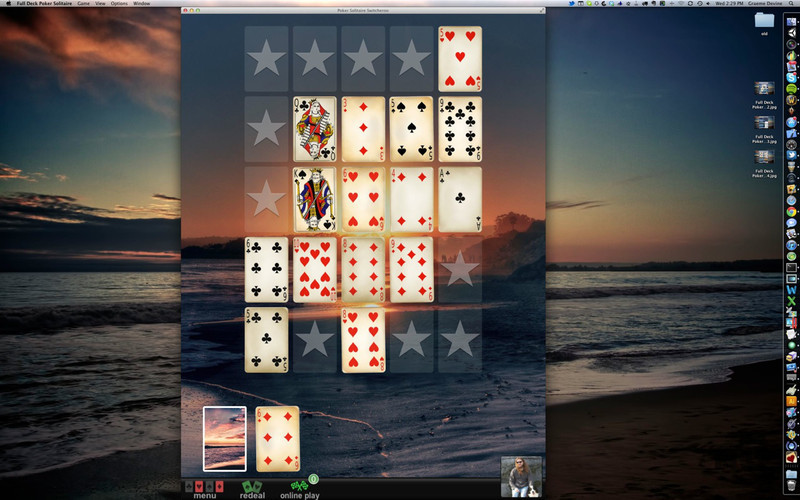 Screenshot 1 for Full Deck Poker Solitaire