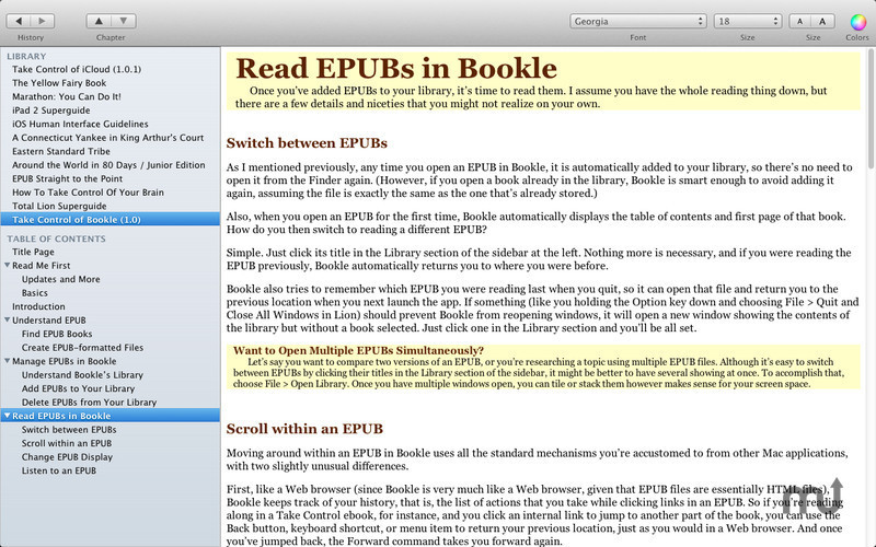 Screenshot 1 for Bookle
