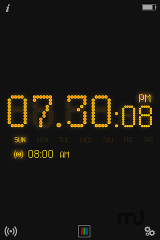 Screenshot 3 for Tap Alarm Clock
