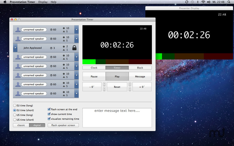 Screenshot 2 for Presentation Timer