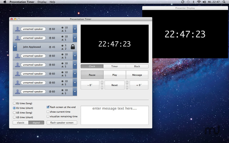 Screenshot 3 for Presentation Timer