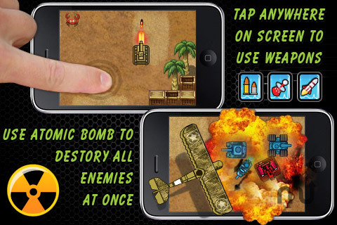 Screenshot 4 for iTankster Free - Addictive Tank Game