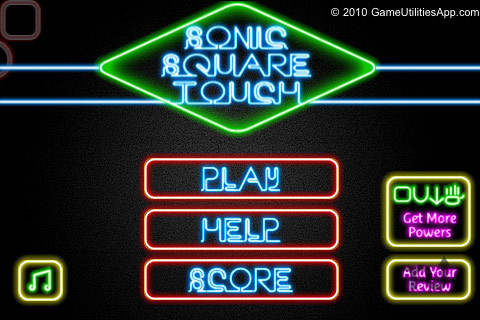 Screenshot 1 for Sonic Square Touch Free