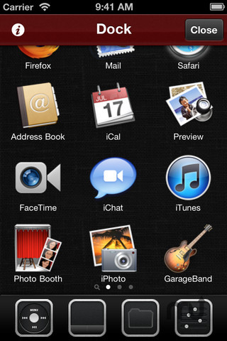 Screenshot 1 for Control! Mac