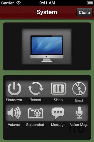 Screenshot 5 for Control! Mac