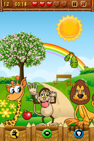 Screenshot 1 for Hungry Animals Lite