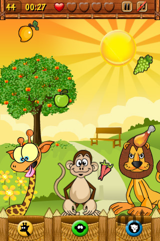 Screenshot 3 for Hungry Animals Lite