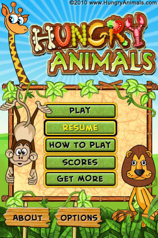 Screenshot 5 for Hungry Animals Lite