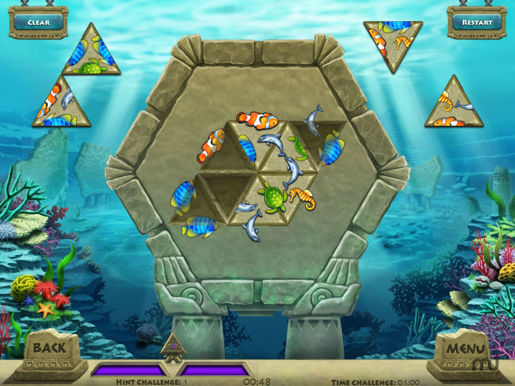 Screenshot 1 for Triazzle Island