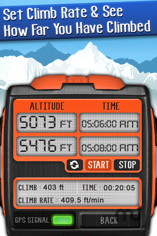 Screenshot 4 for Altimeter Digital GPS