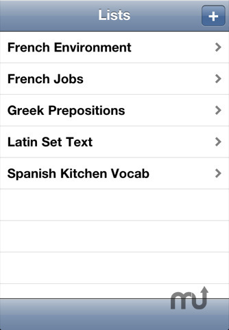 Screenshot 1 for Vocab for iPhone