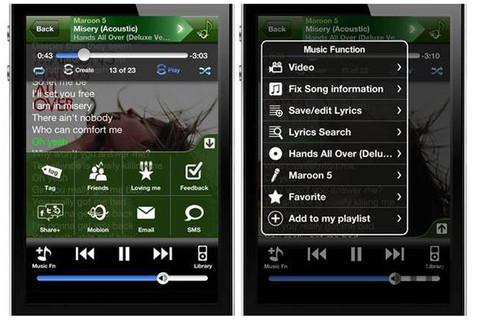 Screenshot 3 for Mobion Music Global Premium