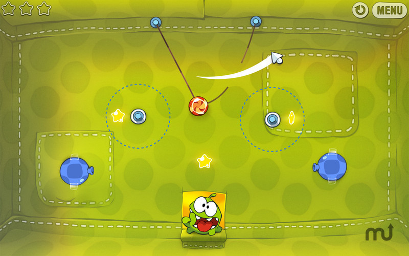 Screenshot 1 for Cut the Rope