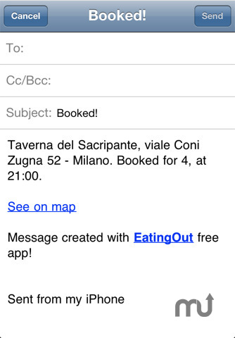 Screenshot 3 for EatingOut