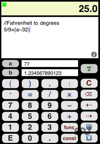 Screenshot 1 for JSCalculator