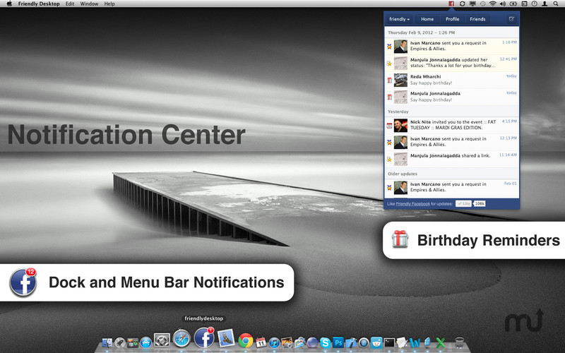 Screenshot 3 for Friendly for Facebook