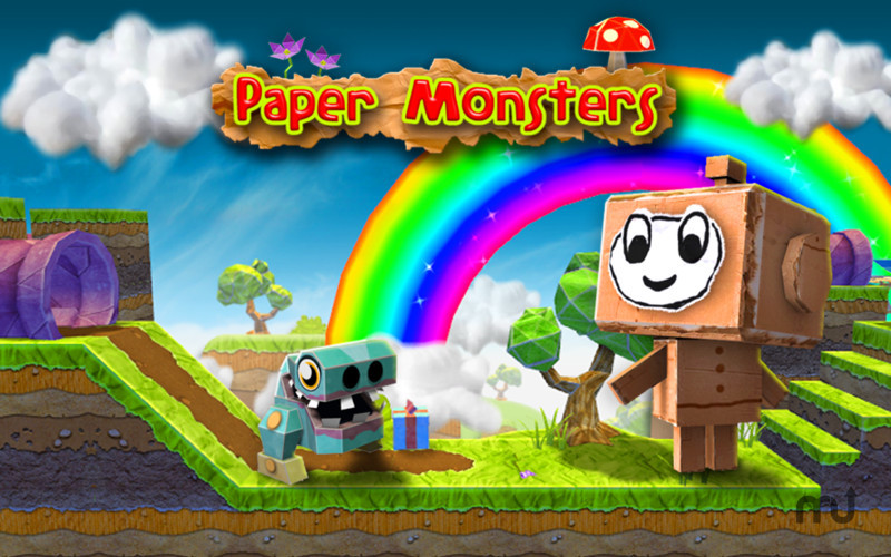 Screenshot 1 for Paper Monsters