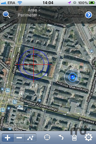 Screenshot 1 for GPS Satellite Measure