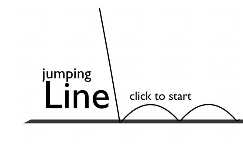 Screenshot 1 for Jumping Line