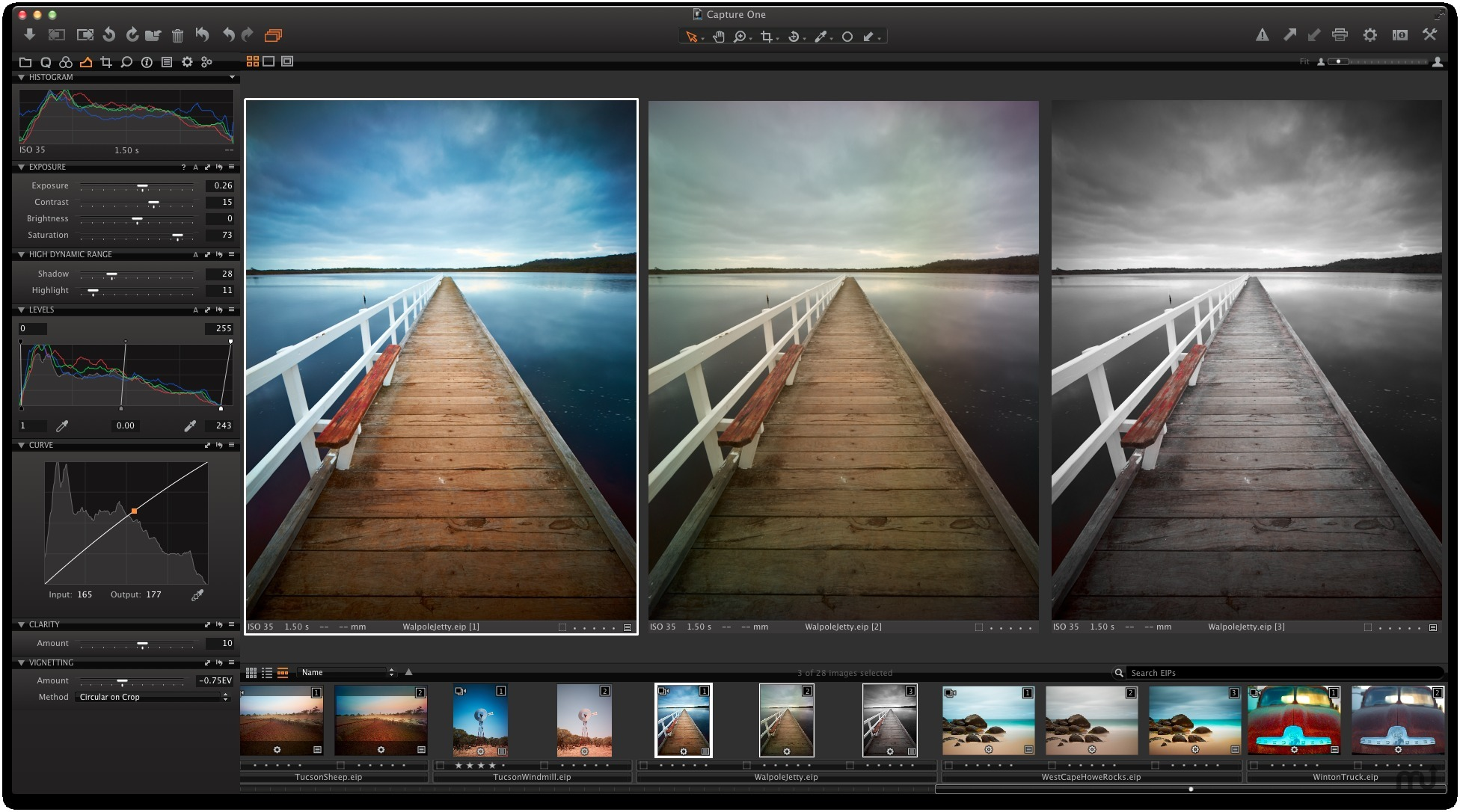 Screenshot 1 for Capture One Express