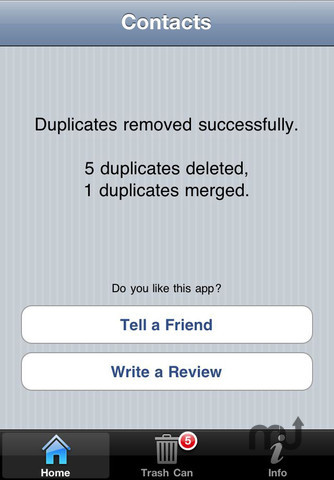Screenshot 3 for Duplicate Remover and Merger Pro