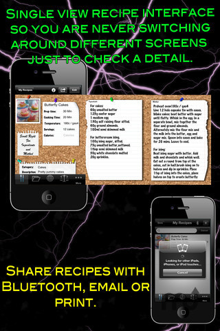 Screenshot 1 for My Recipes