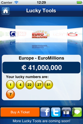 Screenshot 4 for Lottery Results - theLotter