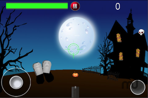 Screenshot 1 for Pumpkin Blaster by playos