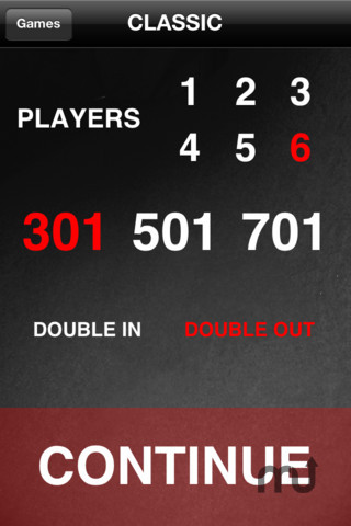 Screenshot 2 for Easy Darts Scorer