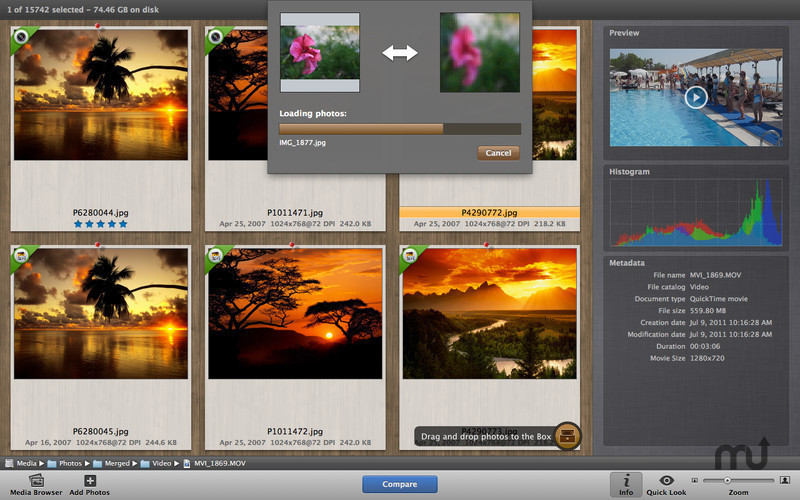 Screenshot 2 for PhotoSweeper Lite