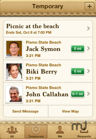 Screenshot 3 for Find My Friends