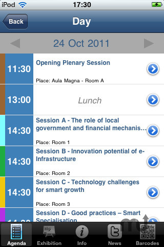 Screenshot 3 for Conference4me