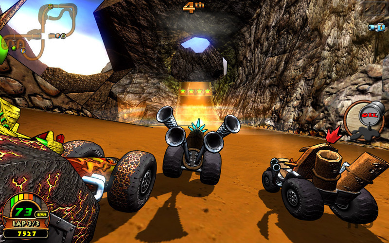 Screenshot 1 for Tiki Kart 3D