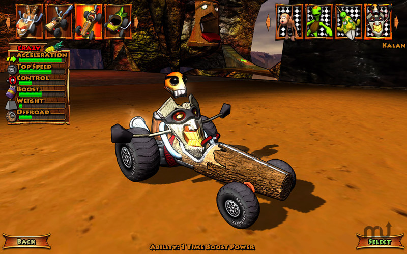 Screenshot 2 for Tiki Kart 3D