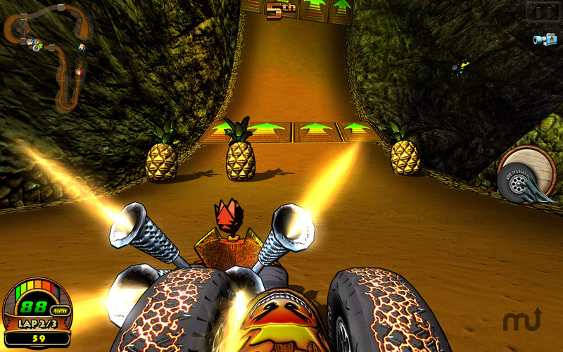 Screenshot 4 for Tiki Kart 3D