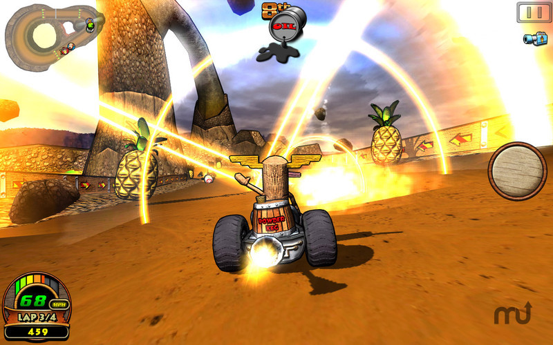 Screenshot 5 for Tiki Kart 3D