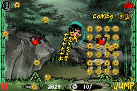 Screenshot 1 for Kung Fu Catch