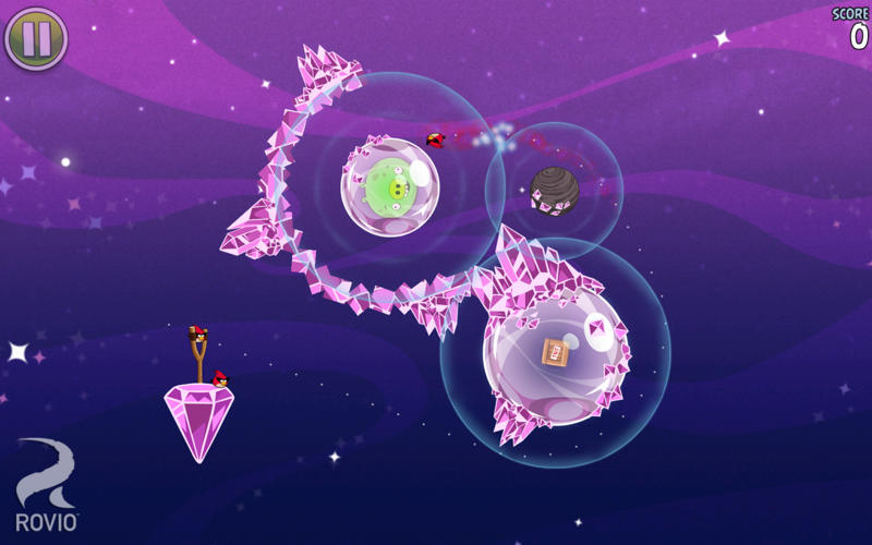 Screenshot 5 for Angry Birds Space