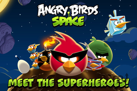 Screenshot 1 for Angry Birds Space