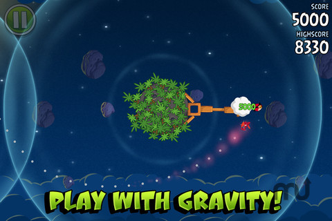 Screenshot 2 for Angry Birds Space