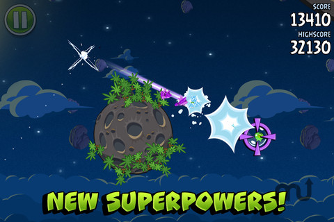 Screenshot 3 for Angry Birds Space