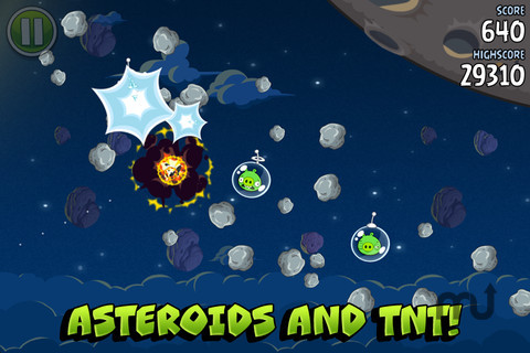 Screenshot 4 for Angry Birds Space