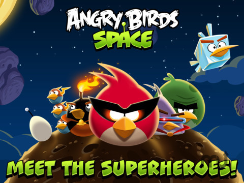 Screenshot 1 for Angry Birds Space HD
